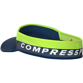 Compressport Ultralight Zonneklep, blue/lime